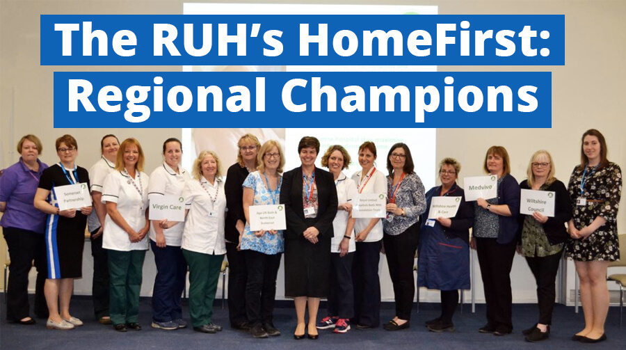Wera Congratulates HomeFirst from the RUH for Succeeding in the NHS70 Awards