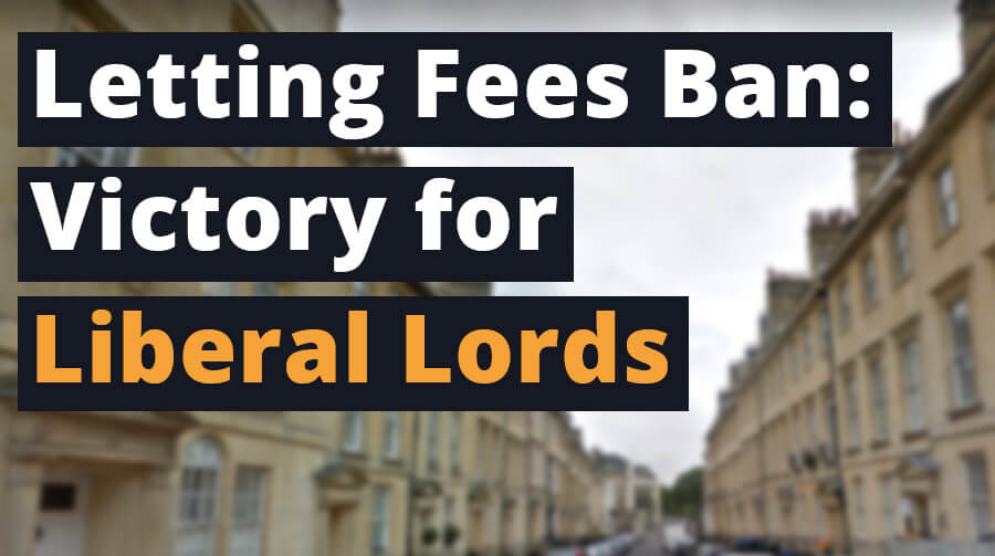 Speech: Letting Fees Ban - Victory for Liberal Lords