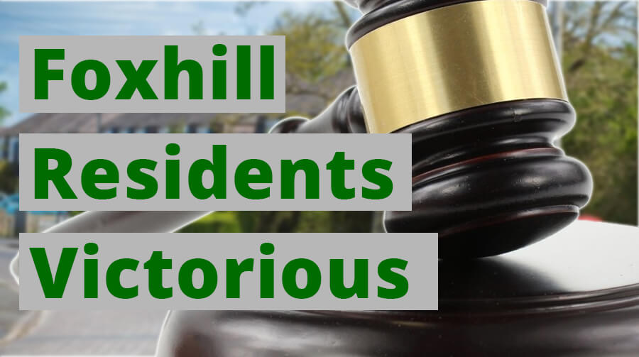 Foxhill Residents Victorious