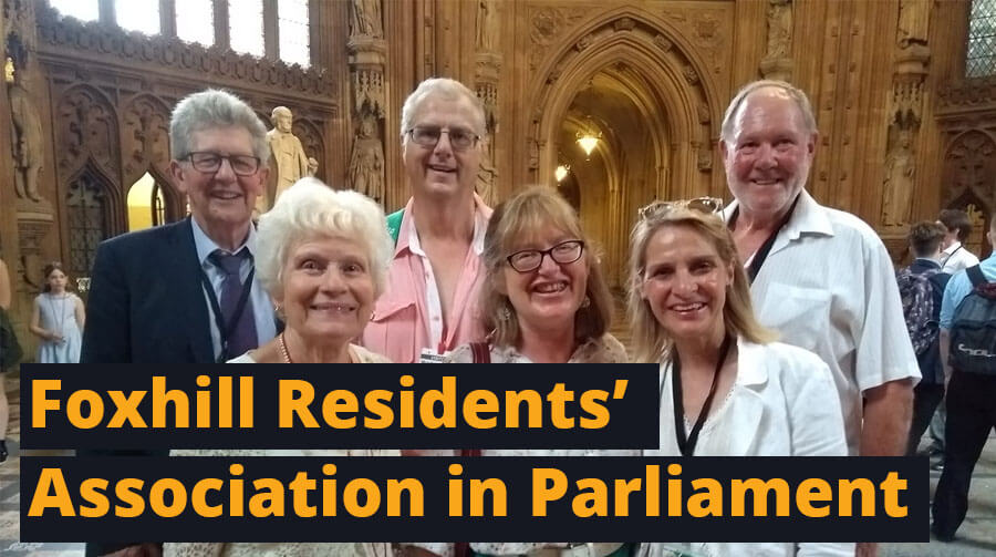 Foxhill Residents Take Their Battle To Parliament