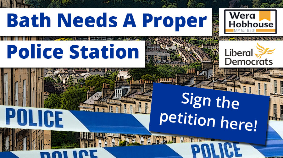 Bath Needs A Proper Police Station