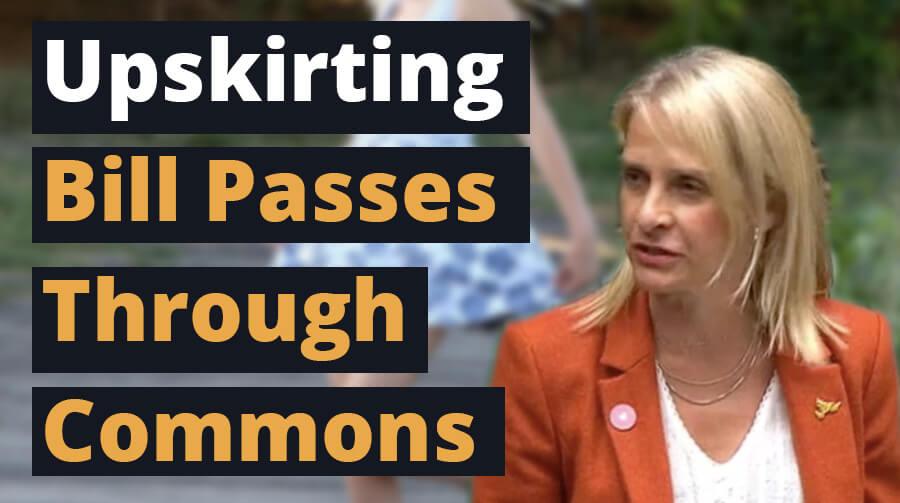 Upskirting Bill Passes Through The Commons