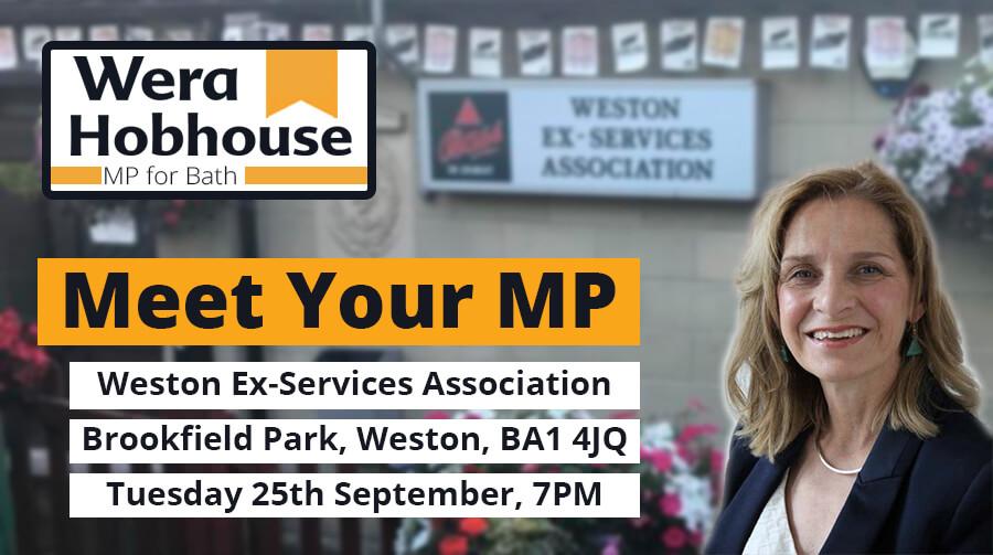 Meet Your MP: Weston and Newbridge