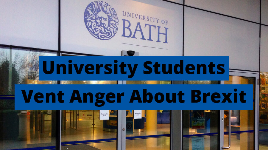 University Students Vent Anger About Brexit