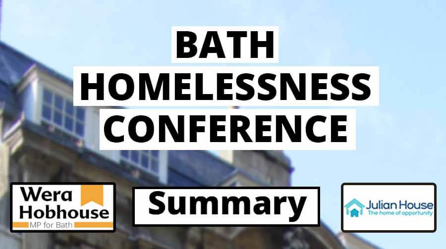 Bath Homelessness Conference Summary