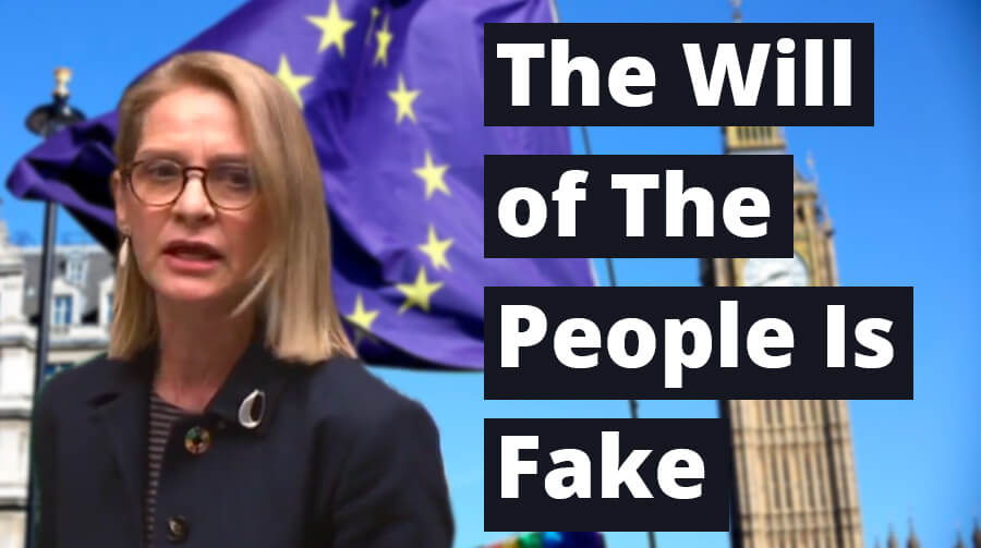 Speech: The Will of The People Is Fake