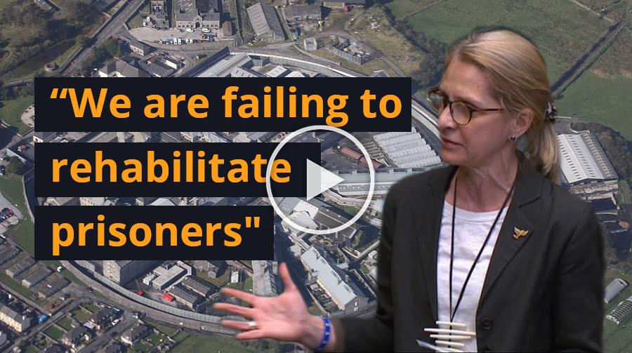 Speech: We are Failing to Rehabilitate Prisoners
