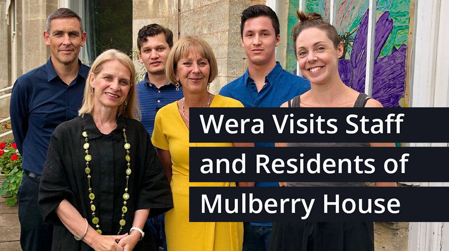 Wera Hobhouse Visits St Mungo's Mental Health Supported Housing Service in Bath