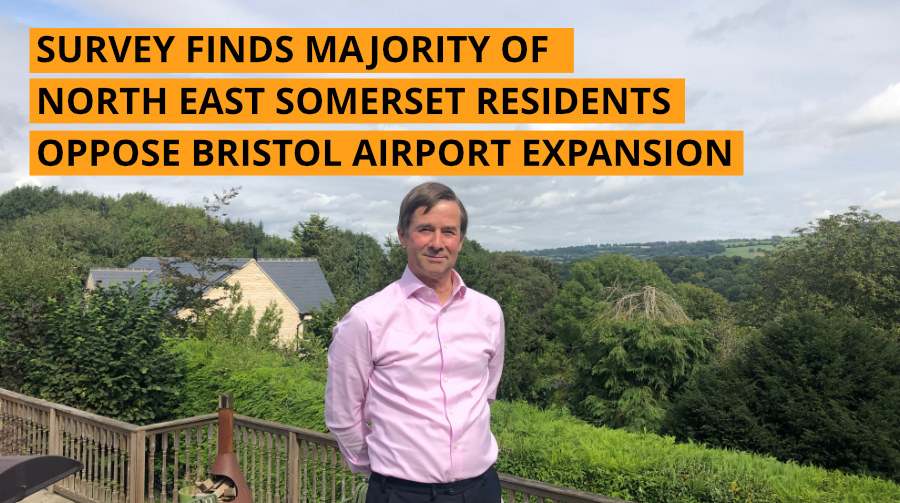 Survey finds majority of North East Somerset residents oppose Bristol Airport Expansion
