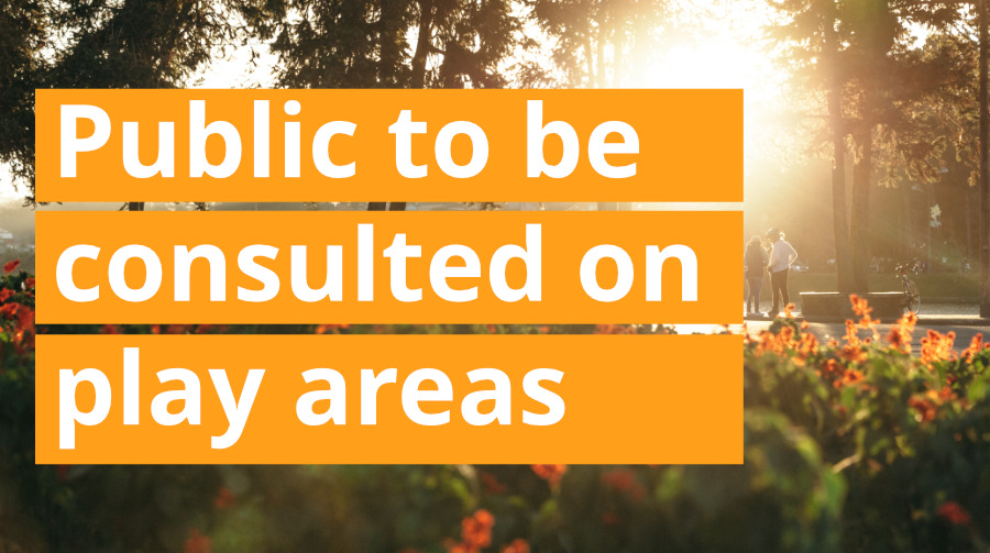Public to be Consulted on Play Areas