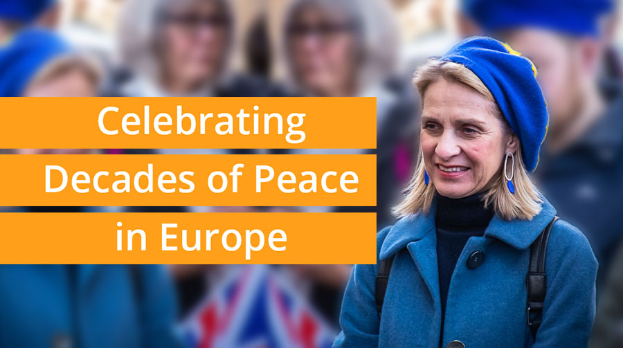 Celebrating decades of peace in Europe