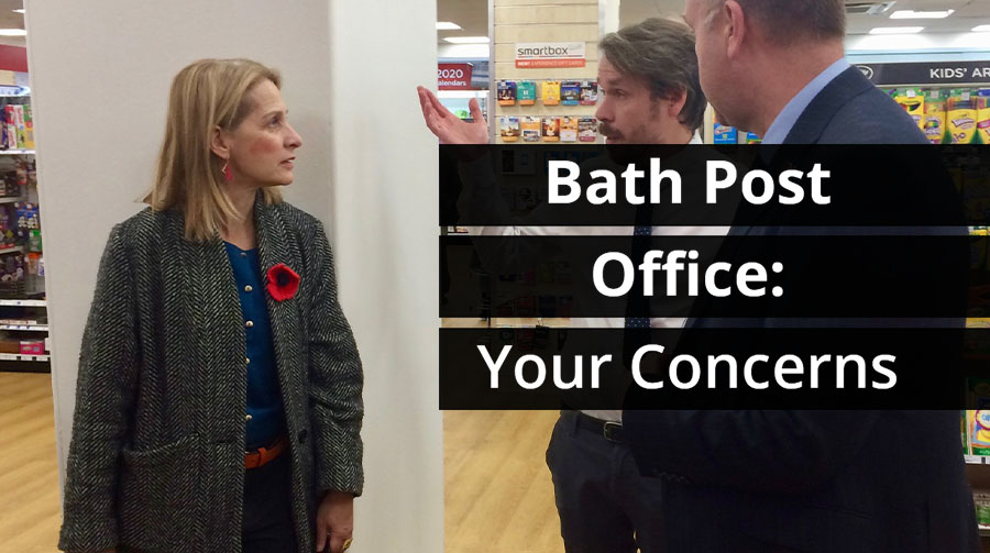 Bath Post Office: Your Concerns