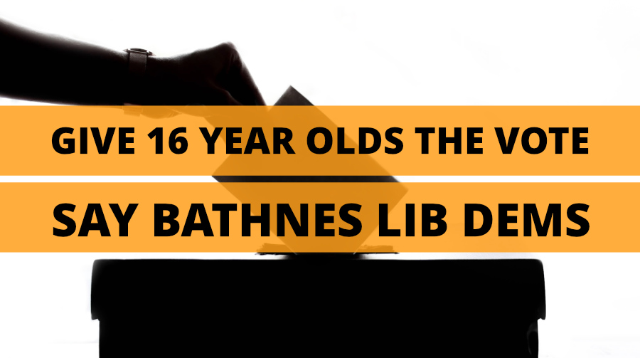 Lib Dems Support Votes at 16