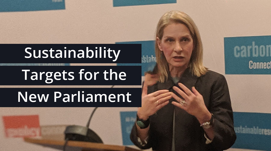 Bath MP speaks about Sustainability Targets for the New Parliament