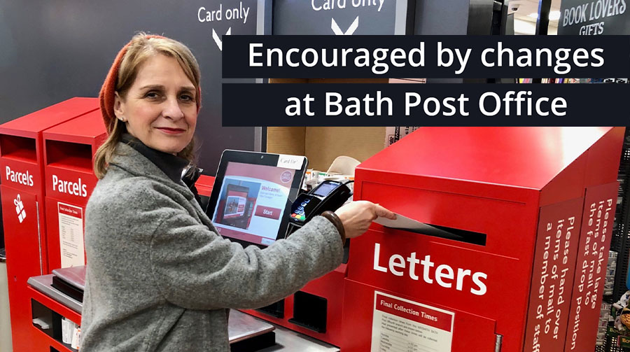 Wera encouraged by changes at Bath Post Office