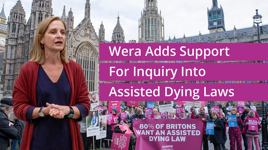 Wera Hobhouse Adds Support For Inquiry Into Assisted Dying Laws