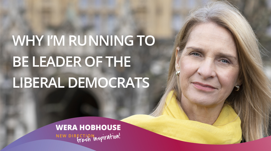 Why I'm Running for Leadership of the Liberal Democrats