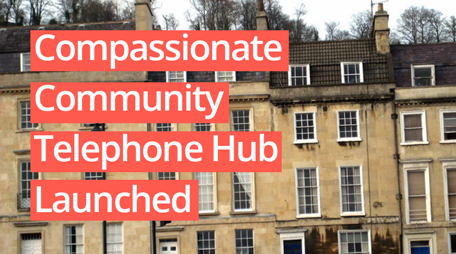 Compassionate Community Telephone Hub Launched