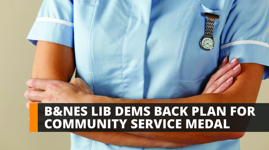 B&NES Lib Dems back plan for community service medal