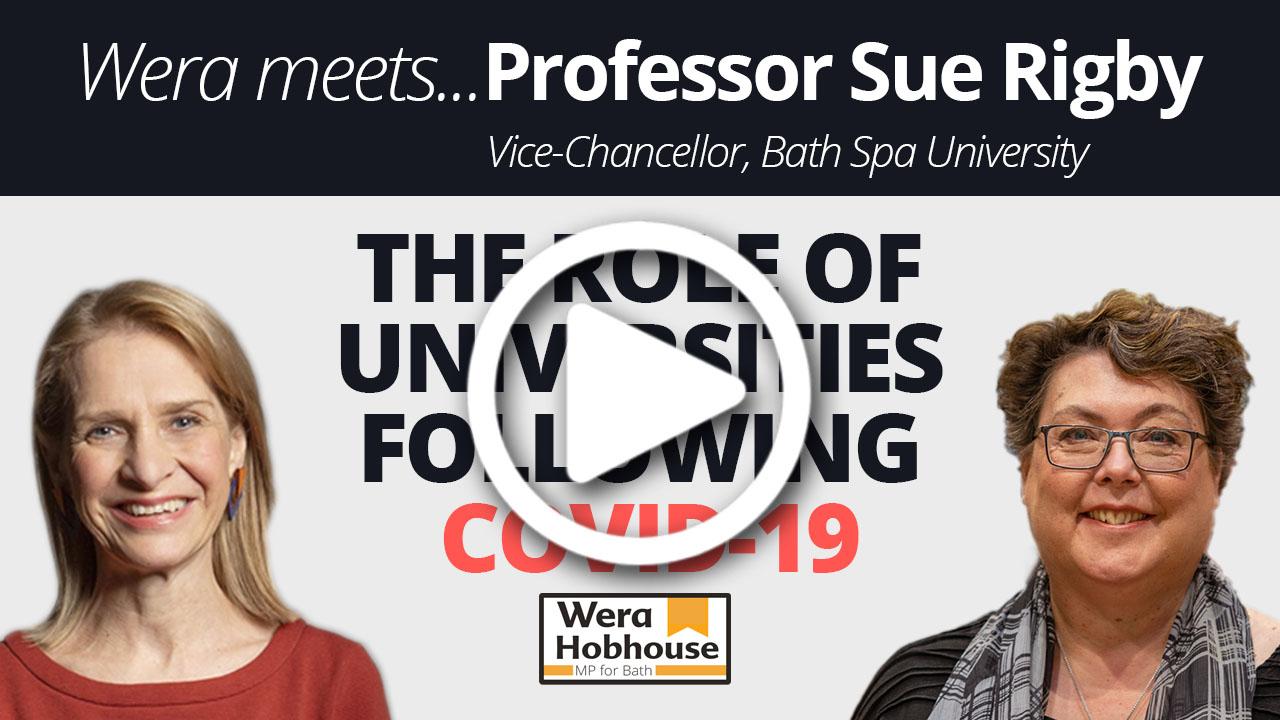 WATCH: Wera Meets...Professor Sue Rigby