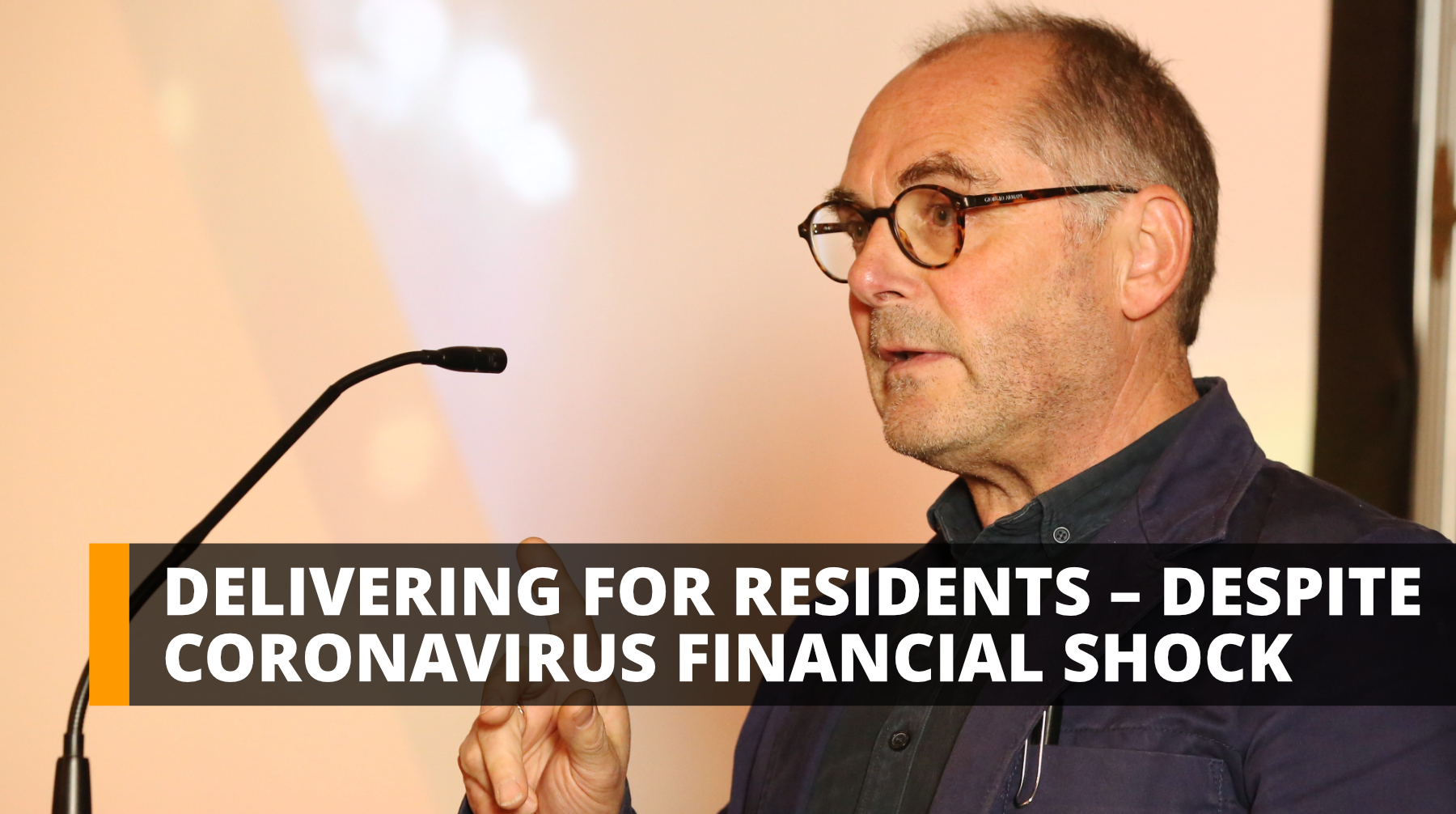 Delivering for B&NES residents – despite coronavirus financial shock