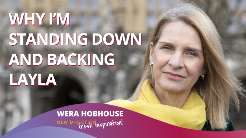 Wera Hobhouse Bows Out of Lib Dem Leadership Election