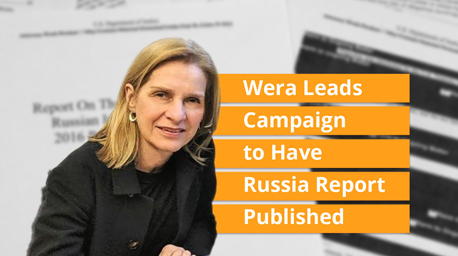Wera Leads Campaign to Have Russia Report Published
