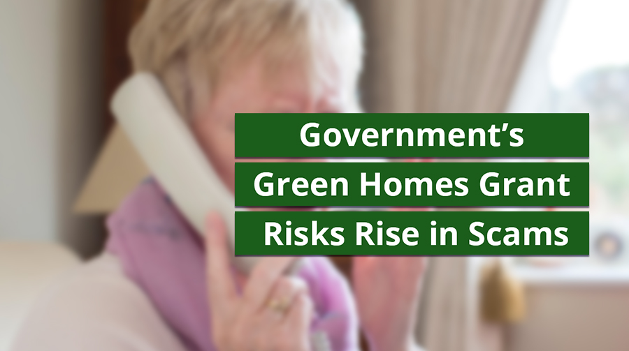 Wera: Government's Green Homes Grant Risks Rise in Scams