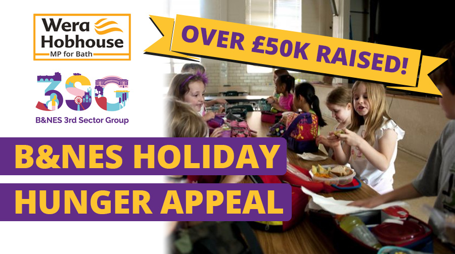 B&NES Holiday Hunger Appeal Raises Over £50,000