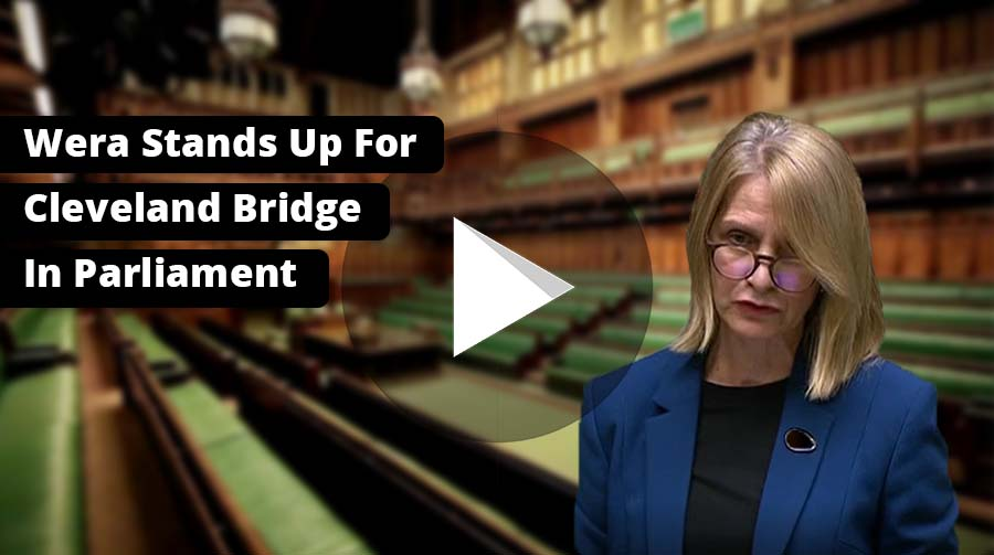 Speech: Bath MP Stands Up For Cleveland Bridge in Parliament