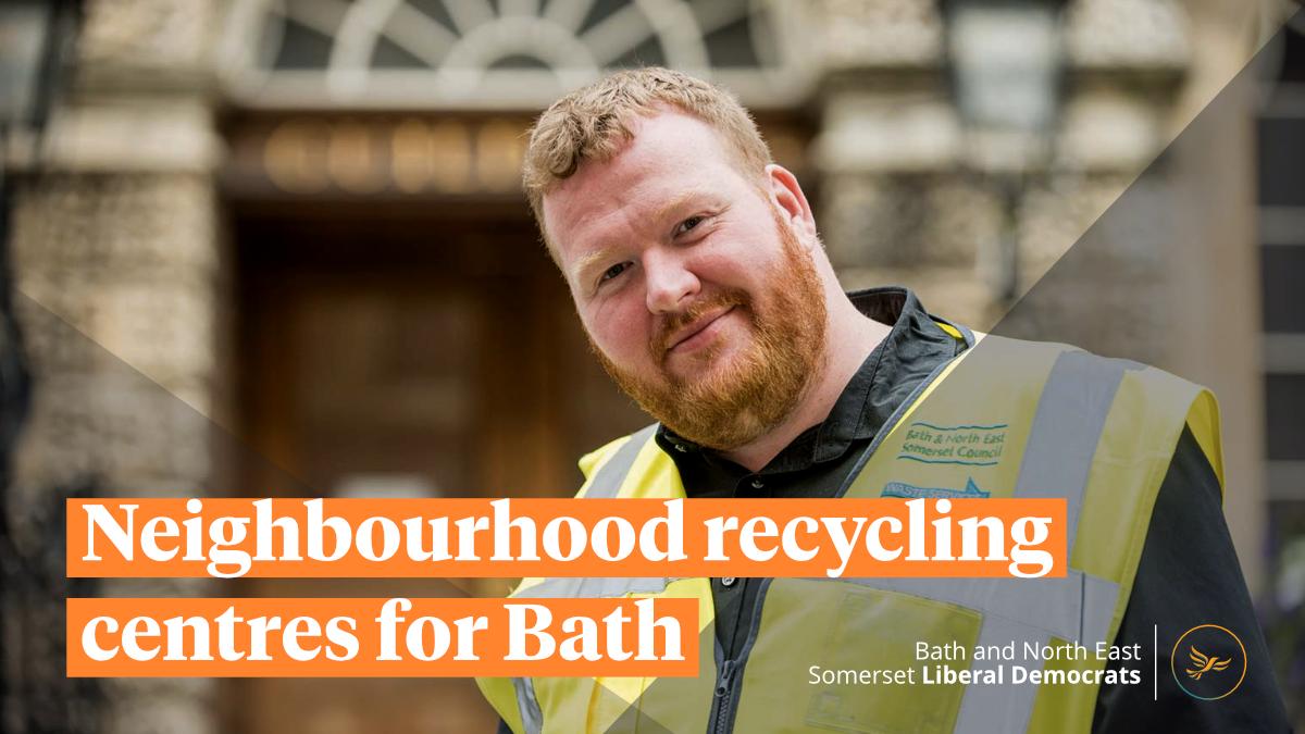 Neighbourhood recycling centres for Bath
