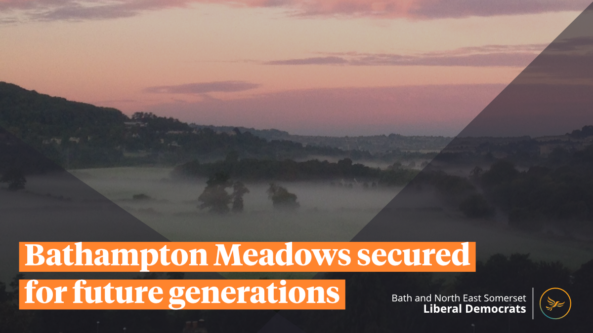 Bathampton Meadows secured for future generations