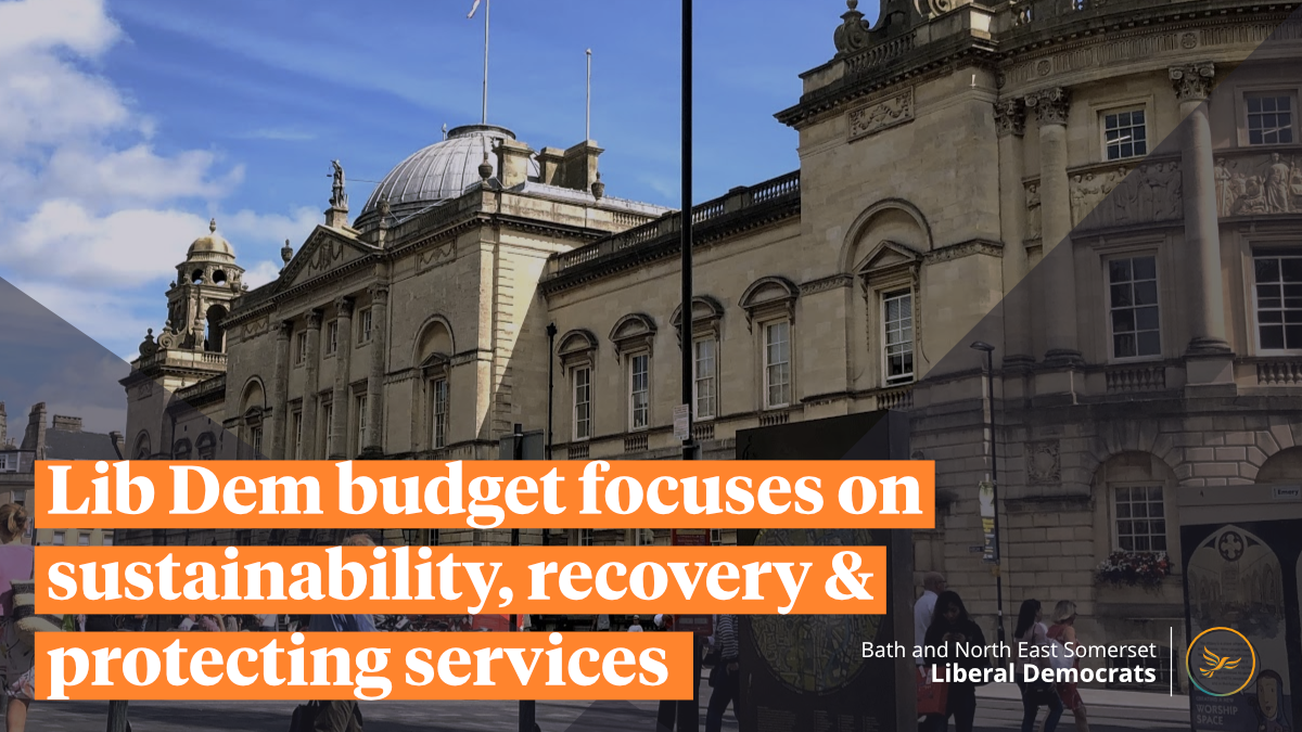 Lib Dem budget focuses on sustainability, recovery and protecting services