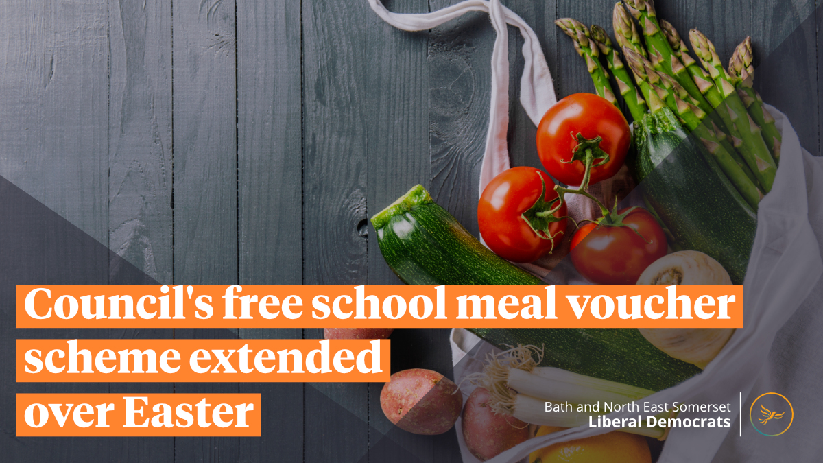 Council's free school meal voucher scheme extended over Easter