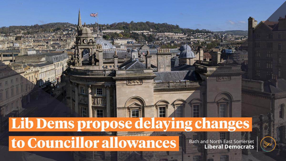 Lib Dems propose delaying changes to Councillor allowances