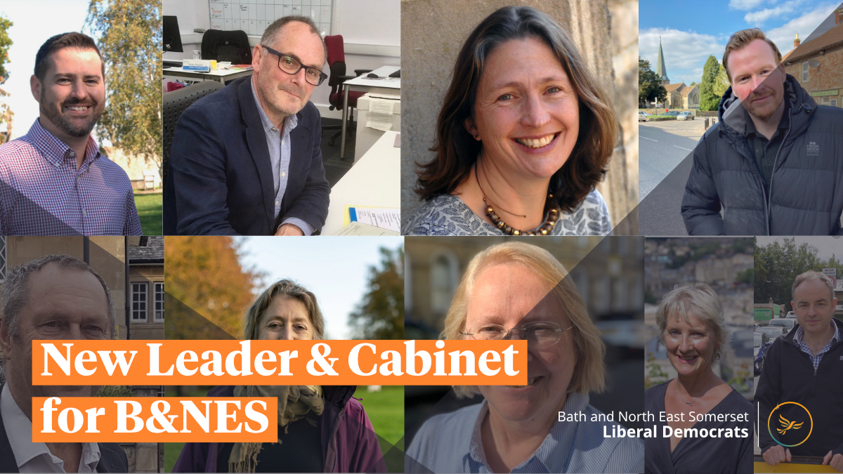 New Leader and Cabinet for B&NES