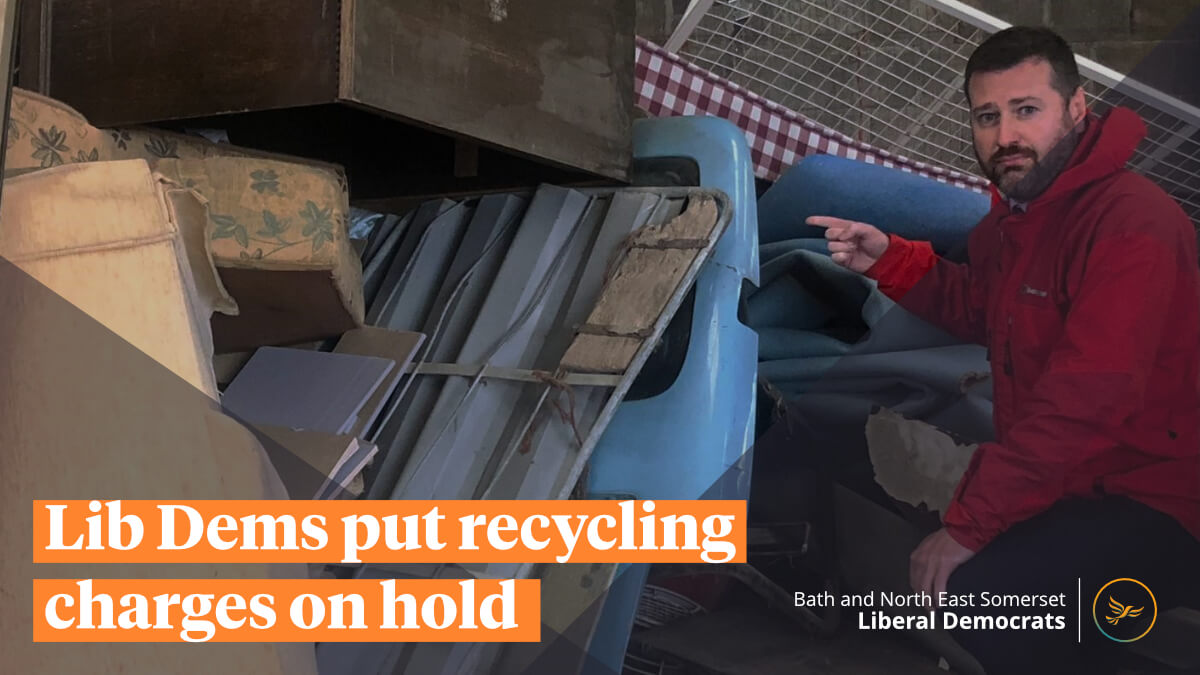 Lib Dems put recycling centre charges on hold