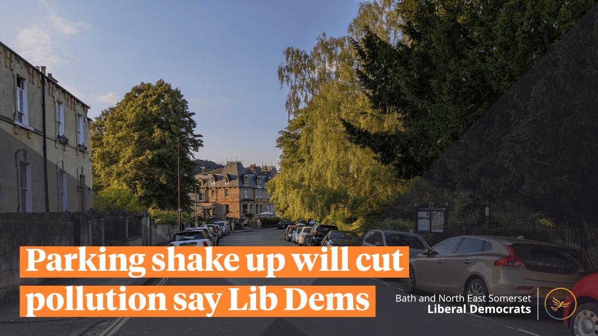 Parking shake up will cut pollution say Lib Dems