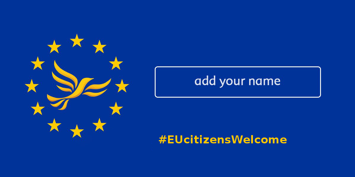 Reassure EU citizens