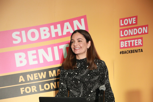 Siobhan Benita launches her campaign for London Mayor