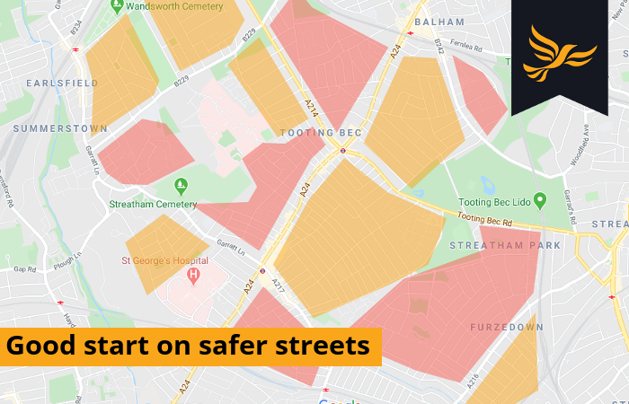 Good start on safer streets