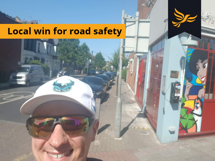 Local win for road safety