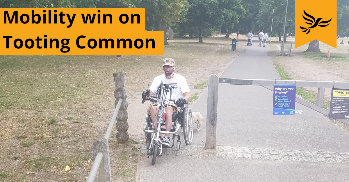 Lib Dems fight for Disabled Mobility