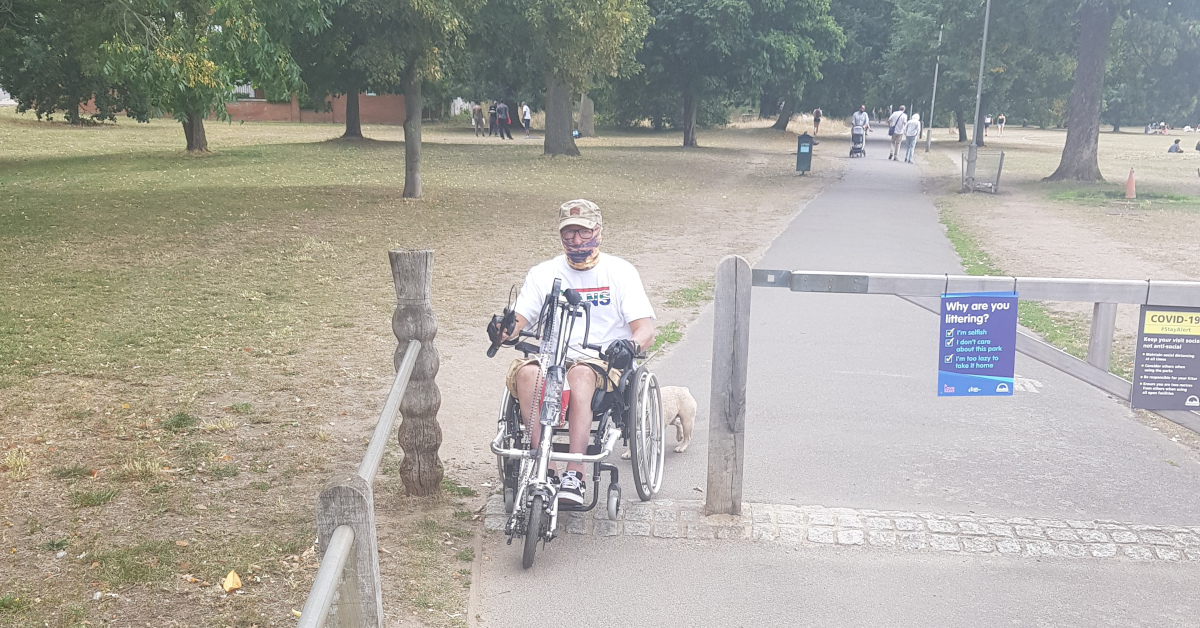 Mobility win on Tooting Common
