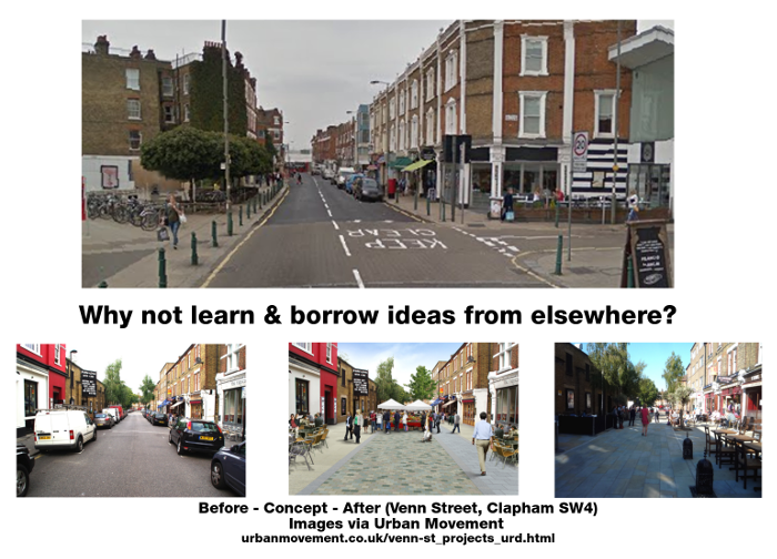 Let's pedestrianise Balham town centre at weekends