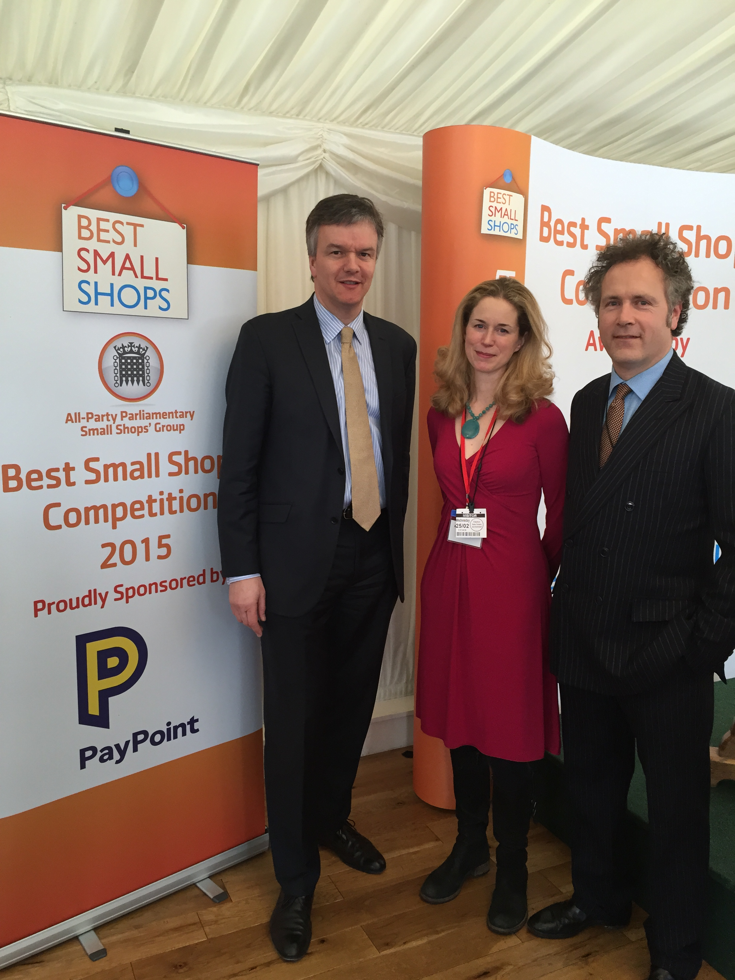 Moore congratulates Mainstreet Trading on best Small Shop competition