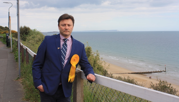 Lib Dems select local campaigner Jon Nicholas to contest Bournemouth West
