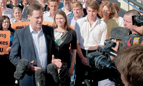 Bournemouth Lib Dems welcome Nick Clegg back to party front bench