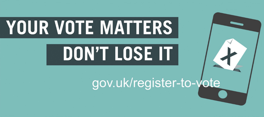 Register to vote in the Bolton & Undercliffe by-election