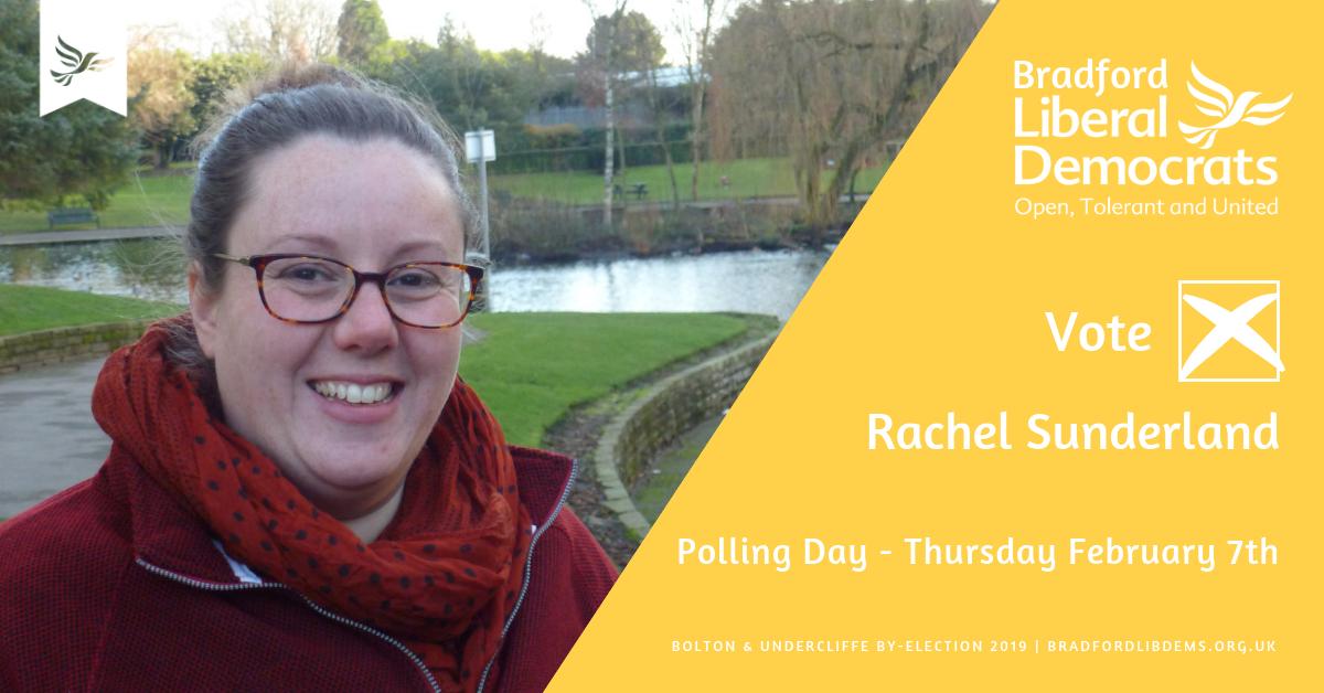 Rachel outlines her key priorities for Bolton & Undercliffe